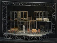 Inseung Park - The Hiding Place. Model. 3:8 scale. Provision Theatre Company. 2010