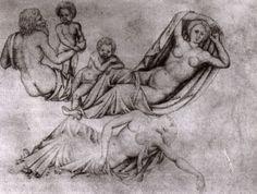 Figure dal sarcofago di Marte e Rea Silvia (1431-1432 circa; Milano, Biblioteca Ambrosiana)