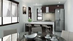 diseño interiores cocina pequeña | inspiración de diseño de interiores