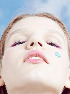 Oyster Beauty: 'Sky Stickers' Shot by Lorenzo Del Francia | Fashion Magazine | News. Fashion. Beauty. Music. | oystermag.com