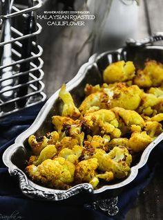 Malaysian Roasted Cauliflower by Sandra's Easy Cooking