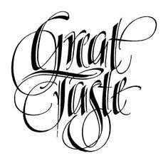 Calligraphy by Raphael Boguslav (1929-2010)