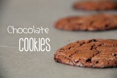 Heavenly Cupcake: Chocolate Cookies