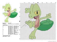 pokemon_treecko_free_cross_stitch_pattern.jpg (JPEG-afbeelding, 2100×1539 pixels)