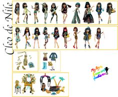 Cleo de Nile Monster High Dolls and Accessories