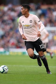 Chris Smalling of Manchester United during the Premier League match between Burnley FC and Manchester United at Turf Moor on September 2 2018 in. Burnley Fc, Manchester United Football, September 2, Premier League Matches, Chinese Food, Football Players, Chelsea, Club, Running