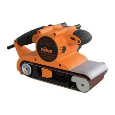 Shop Triton Tools x Variable Speed Belt Sander at Lowe's Canada. Find our selection of power sanders at the lowest price guaranteed with price match. Triton Tools, Electronic Speed Control, Power Sander, Wood Chisel, Air Miles Rewards, Tool Store, Woodworking, Belt, Bricolage