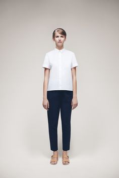 Telli Shirt and Civer Trousers | Samuji SS15 Classic Collection