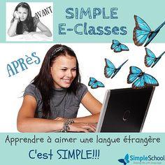 C'est la rentrée! Et nous pouvons vous aider à motiver vos enfants dans l'apprentissage de l'Anglais l'Espagnol ou le Portugais. Contactez-nous pour en savoir plus: www.simpleschool.fr