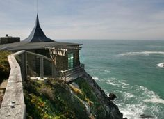 Glass House by the Sea in Timber Cove, California