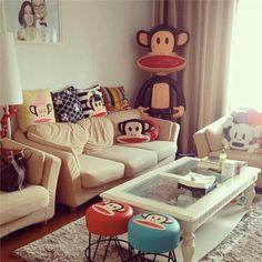 Paul Frank pillows