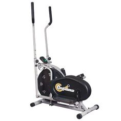 Confidence Elliptical Cross Trainer with Computer - Black/Silver