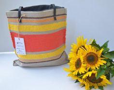 Items similar to Handwoven handbag tote purse handmade manual loom natural cotton AURORA on Etsy Tote Purse, Tote Handbags, Bag Making, Hand Weaving, Woven Bags, Shoulder Bag, Purses, Trending Outfits, Handmade Gifts