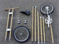 michael verhaeren's sustainable + compact bamboo bicycle - designboom | architecture & design magazine