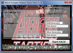 Marvel Avengers Alliance Tactics Hack