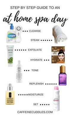 Nice DIY Beauty: At home Spa day. 8 Simple Steps for a DIY at Home facial The post DIY Beauty: At home Spa day. 8 Simple Steps for a DIY at Home facial… appeared first on Beauty Trends . Diy Spa Day, Spa Day At Home, Hair Spa At Home, Belleza Diy, Tips Belleza, Organic Skin Care, Natural Skin Care, Natural Beauty, Natural Face