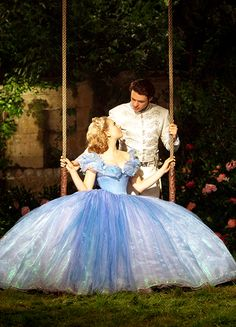 Lily James & Richard Madden in 'Cinderella' (2015).