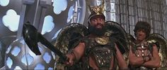 Prince Vultan (Brian Blessed) and General Luro (John Hallam) - Flash Gordon Bizarre Facts, Weird Facts, Pathfinder Game, Brian Blessed, Get Carter, Flash Gordon, Fantasy Setting, Star Cast, Wonderful Picture