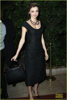 Miranda Kerr: 'Mademoiselle C' Cocktail Party!  