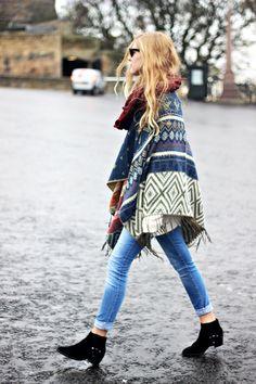 El must del otoño! Nuestro poncho favorito ;) http://inside-shops.com/PONCHO