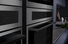 Gunmetal is the latest must-have kitchen trend. Take a look at our full range of matching metallics, from wine cabinets to ovens, the choice is yours Kitchen Color Trends, Wine Cabinets, Kitchen Collection, Ovens, Kitchen Appliances, Range, Home, Design, Diy Kitchen Appliances