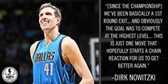 Dirk Nowitzki explains his decision to opt out of his contract with the Dallas Mavericks. 5/2/2016