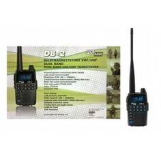 POLMAR DB-2 VERSIONE EXPORT TRI-BAND 136~174MHz - 205~260MHz - 400~480MHz - 88~108 FMW (solo RX) + AUR/MIC