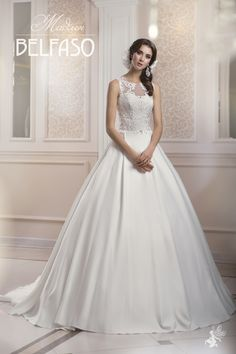 Belfaso 2015 Wedding Dresses offers you a wide range of wedding gowns that will make your wedding day wonderful and memorable. Beautiful Gowns, Beautiful Bride, 2015 Wedding Dresses, Wedding Gowns, Wedding Dress With Pockets, Dream Dress, Tulle, White Dress, Romantic