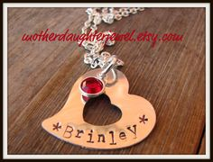 Hand-Stamped Jewelry!