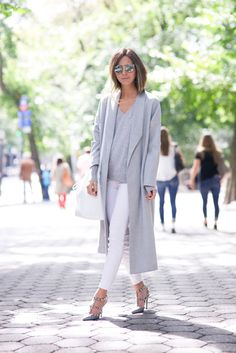The Blogger-Loved Coat That Always Sells Out via @WhoWhatWear