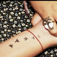 If I ever get brave enough to get a tatoo, I like this one.