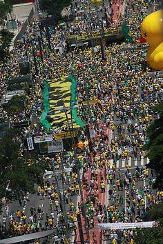 PROTESTOS EM TODO O BRASIL