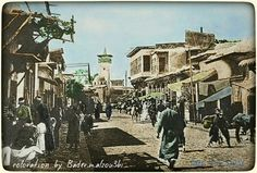 Syria - Damascus الميدان جامع الصحابة - 1891 #coloration_by_Bader_m_alzou3bi #touches_by_Bader_m_alzou3bi #dimashq #damas #damascus #damascus_old #syria_damascus https://www.facebook.com/arejdimashq