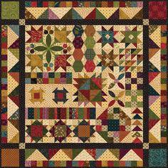Henry Glass Fabrics: Simple Whatnots Sampler Quilt
