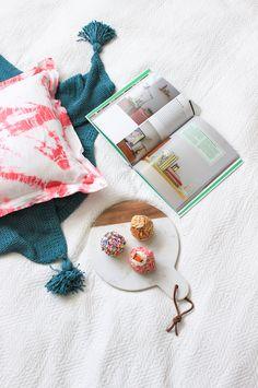 DIY Pink Shibori Pil