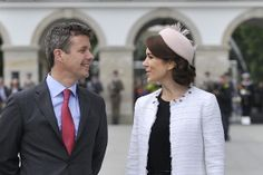 Frederik Crown Prince of Denmark and his wife Crown Princess Mary... News Photo 489730507