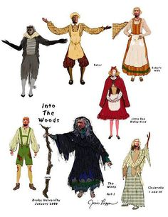 Into The Woods Costume Diagram | Flickr - Photo Sharing!