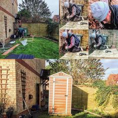 UK gardener Troy Wilding installed a 4x6 Amber SkyLight™ Shed in a privated garden.