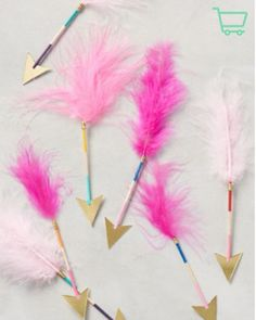 Add some flair to your penmanship with these Feathered Arrow pens from Anthropologie, Only $9 on Keep!