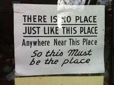 """No place like """"us"""""""