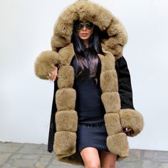 Fashion Noble Temperament Stitching Imitation Mane Fluffy Coat Fashion girls, party dresses long dress for short Women, casual summer outfit ideas, party dresses Fashion Trends, Latest Fashion # Fur Collar Coat, Fur Collars, Fur Casual, Fluffy Coat, Winter Fashion Casual, Casual Summer, Summer Outfit, Winter Style, Cashmere Coat