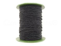 Chains 150069: Ball Chain Roll - 330 Ft - Dark Black Color - 2.0Mm Ball - 100M 110 Yard 2Mm -> BUY IT NOW ONLY: $34.99 on eBay!