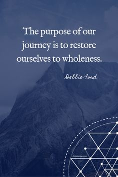 Debbie Ford Quote Wholeness PIN