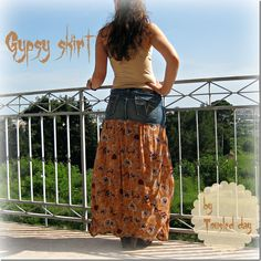 DIY Gypsy skirt