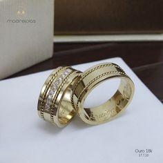 Gold Wedding, Wedding Rings, Matching Wedding Bands, Ring Verlobung, Bridal Sets, Jewerly, Make Up, Engagement Rings, Fashion