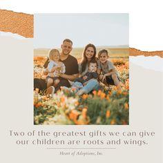 #AdoptionIsLove #LoveMakesAFamily #AdoptionRocks Adoption In Florida, Adoption Quotes, Adoption Agencies, Roots And Wings, Adoptive Parents, Birth Mother, Uplifting Quotes, Strong, Gift Ideas