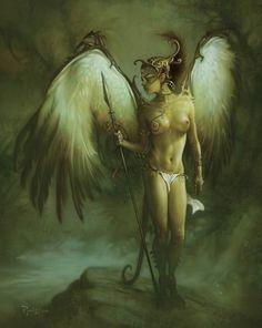 Angels and Demons on Pinterest | Demons, Concept Art and deviantART