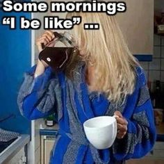 Good morning coffee lover friends♥ Like me, her cup is almost as big as the pot, anyway! Coffee Talk, Coffee Is Life, I Love Coffee, Coffee Break, My Coffee, Morning Coffee, Coffee Cups, Coffee Lovers, Funny Coffee