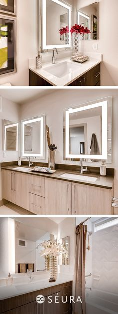 34 Best Lighted Mirrors Classic Design Collection Images