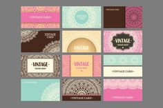 12 Business card in ethnic style by ViSnezh on @creativemarket